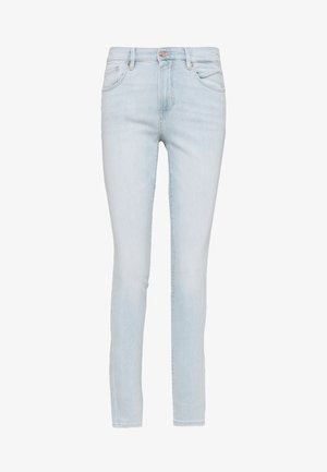 LANG - Džíny Slim Fit - blue denim