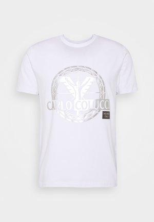 BIG LOGO - Print T-shirt - white