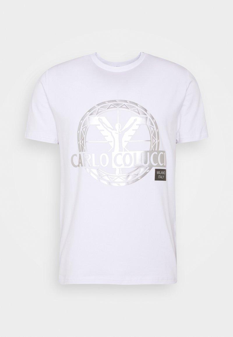 Carlo Colucci - BIG LOGO - Print T-shirt - white