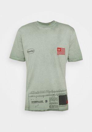 WORKWEAR MACHINE TEE - T-shirt print - mint