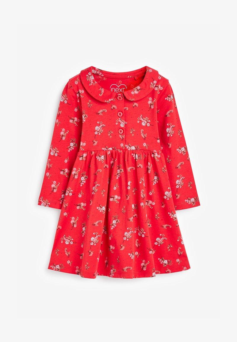 Next - Gebreide jurk - red