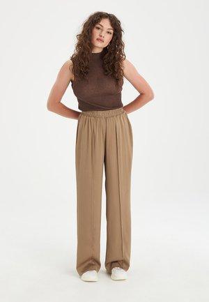 FLUID - Broek - brown