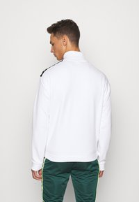 Kappa - HASSO HALF ZIP - Sweatshirt - bright white - 2