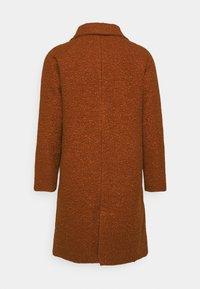 Another Influence - ELIAN TEXTURED OVERCOAT - Classic coat - rust - 1
