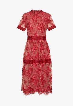 VIDIXIE MIDI DRESS - Sukienka koktajlowa - flame scarlet