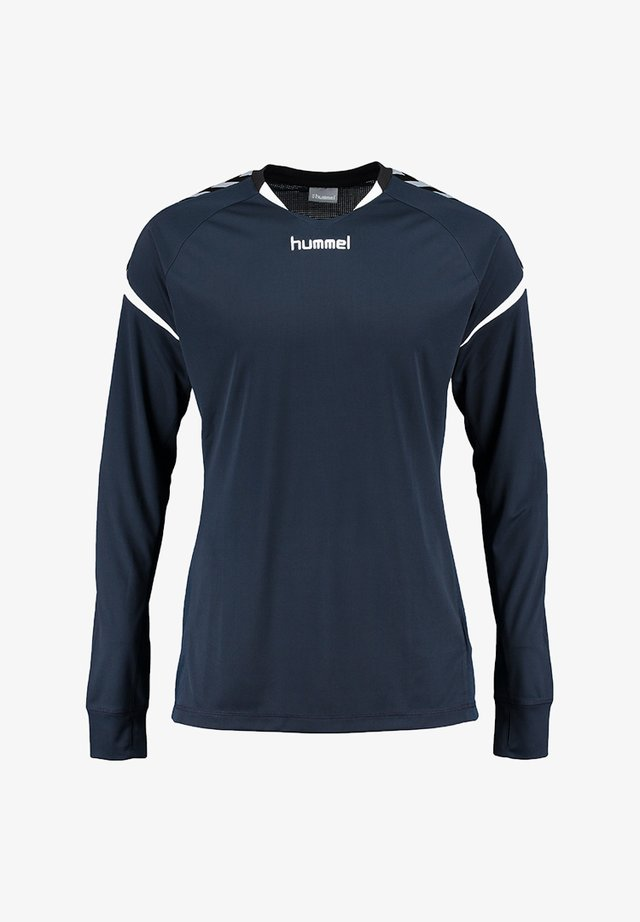 CHARGE LS POLY  - Sports shirt - dark blue