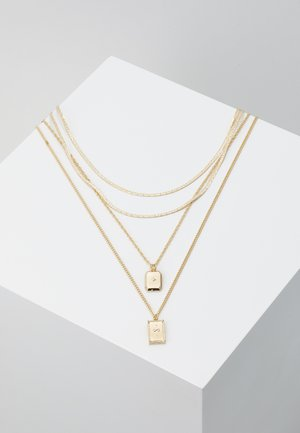 PCJEBRUK COMBI NECKLACE - Halskæder - gold-coloured