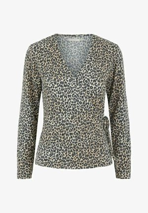 Blouse - warm taupe