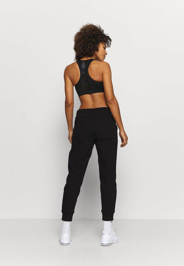 LOGO JOGGER - Pantaloni sportivi - black