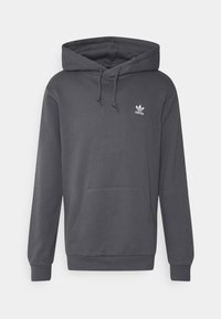 adidas Originals - ESSENTIAL HOODY UNISEX - Felpa con cappuccio - grey - 0