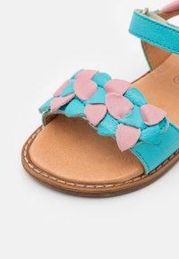 Froddo - LORE FLOWERS - Sandalen - turquoise - 5