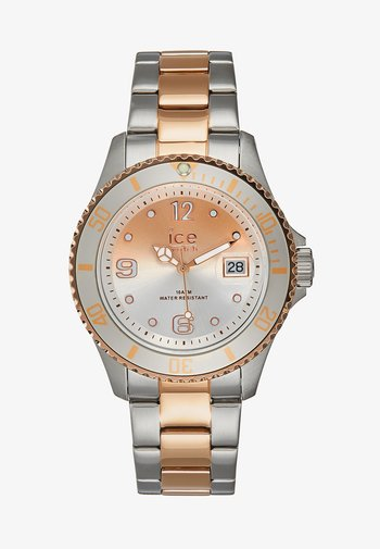Watch - silver-coloured/rosègold-coloured