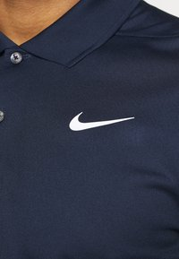 Nike Golf - DRY VICTORY SOLID SLIM - Sports shirt - obsidian/white - 5