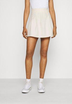 SKATER SKIRT - Mini skirt - cream