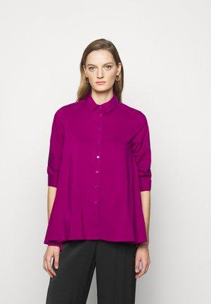 BENITA FASHIONABLE BLOUSE - Button-down blouse - funky purple