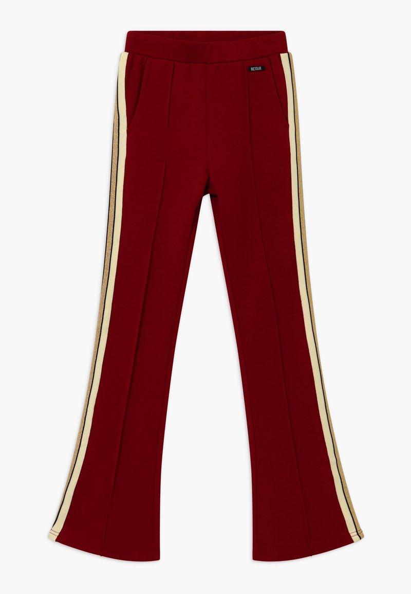 Retour Jeans - BLAIRE - Jogginghose - dark red