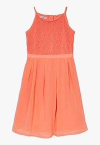 Lemon Beret - FESTIVE DRESS  - Cocktail dress / Party dress - living coral - 0