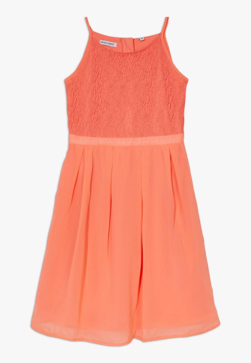 Lemon Beret - FESTIVE DRESS  - Cocktail dress / Party dress - living coral