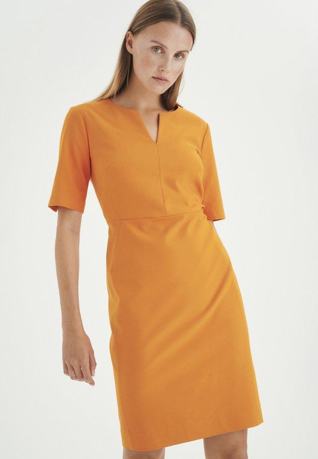 ZELLA - Korte jurk - golden sunset