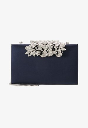 CHARLOTTE EMBELLISHED - Clutch - navy