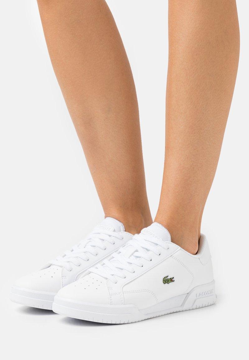 Lacoste - TWIN SERVE  - Sneakers basse - white