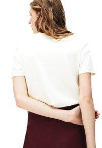 Lacoste - TF8698 - Print T-shirt - white - 1