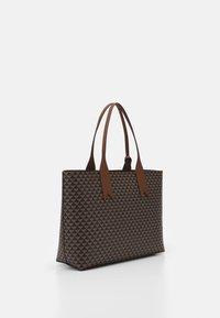 Emporio Armani - FRIDASHOPPING BAG - Handbag - moro/ecru/tabacco - 2