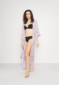 Women Secret - LONG ROBE FLOW  - Dressing gown - pink - 1