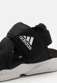 adidas Performance - TERREX SUMRA - Outdoorsandalen - core black/footwear white - 5