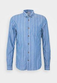STRIPED LONG SLEEVE - Shirt - blue
