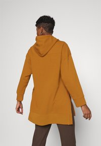 ONLY - ONLJENA LIFE LONG HOODIE - Huppari - glazed ginger - 2
