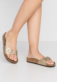 Birkenstock - MADRID - Pantofole - gold - 0