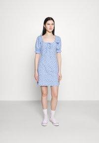 Trendyol - Vestido informal - light blue - 0