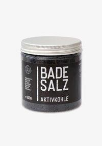 Florex - BADESALZ AKTIVKOHLE 300 G - Bubble bath & soak - schwarz - 0