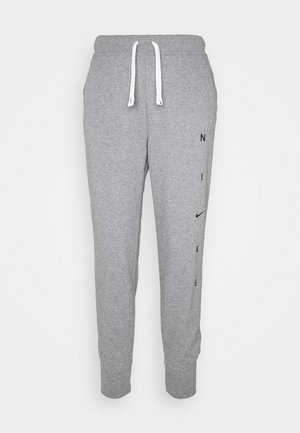 DRY GET FIT PANT - Tracksuit bottoms - carbon heather/smoke grey/black