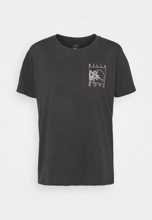 FIRST TEE - T-shirt imprimé - black