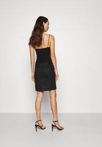 Vila - VIFADDY SKIRT - Pencil skirt - black - 2