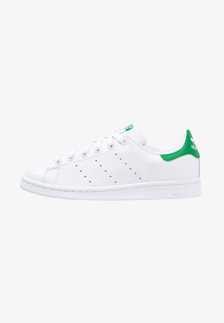 adidas Originals - STAN SMITH - Matalavartiset tennarit - ftwr white/core white/green