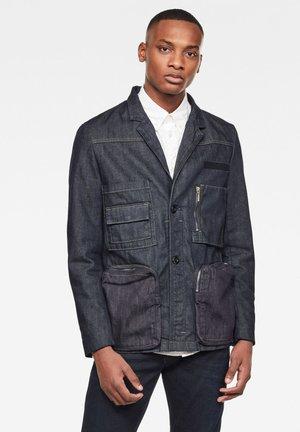 GSRR HITO UTILITY BLAZER - Denim jacket - rinsed