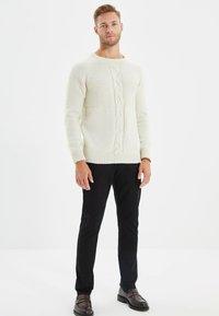 Trendyol - Pantalon classique - black - 1