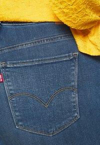 Levi's® Plus - 721 HI RISE SKINNY - Jeans Skinny Fit - bogota heart - 5