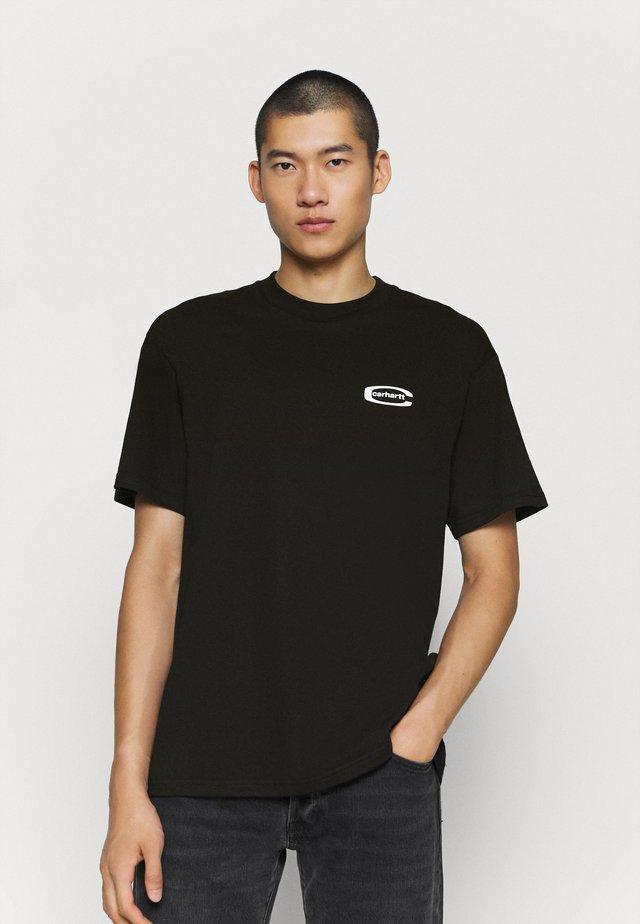 MIRROR  - Print T-shirt - black
