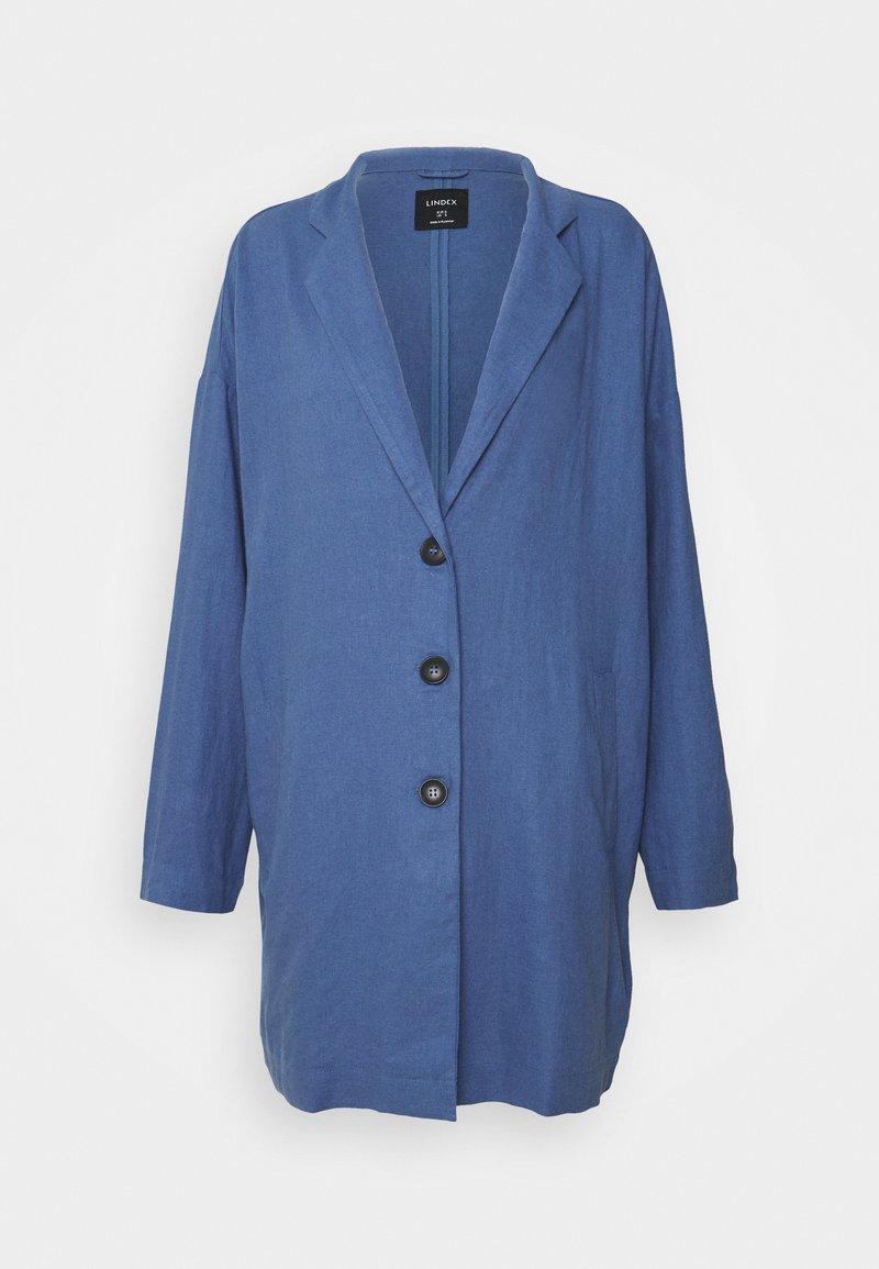 Lindex - COAT LINN - Krótki płaszcz - blue