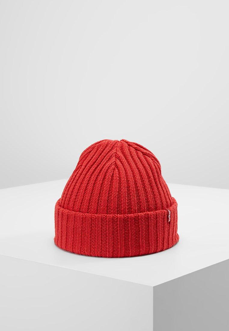 Levi's® - RIBBED BEANIE - Czapka - brilliant red