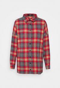 Missguided - PLAID SHIRT - Button-down blouse - multi - 0
