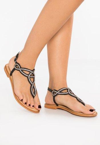 VMLIV - T-bar sandals - black