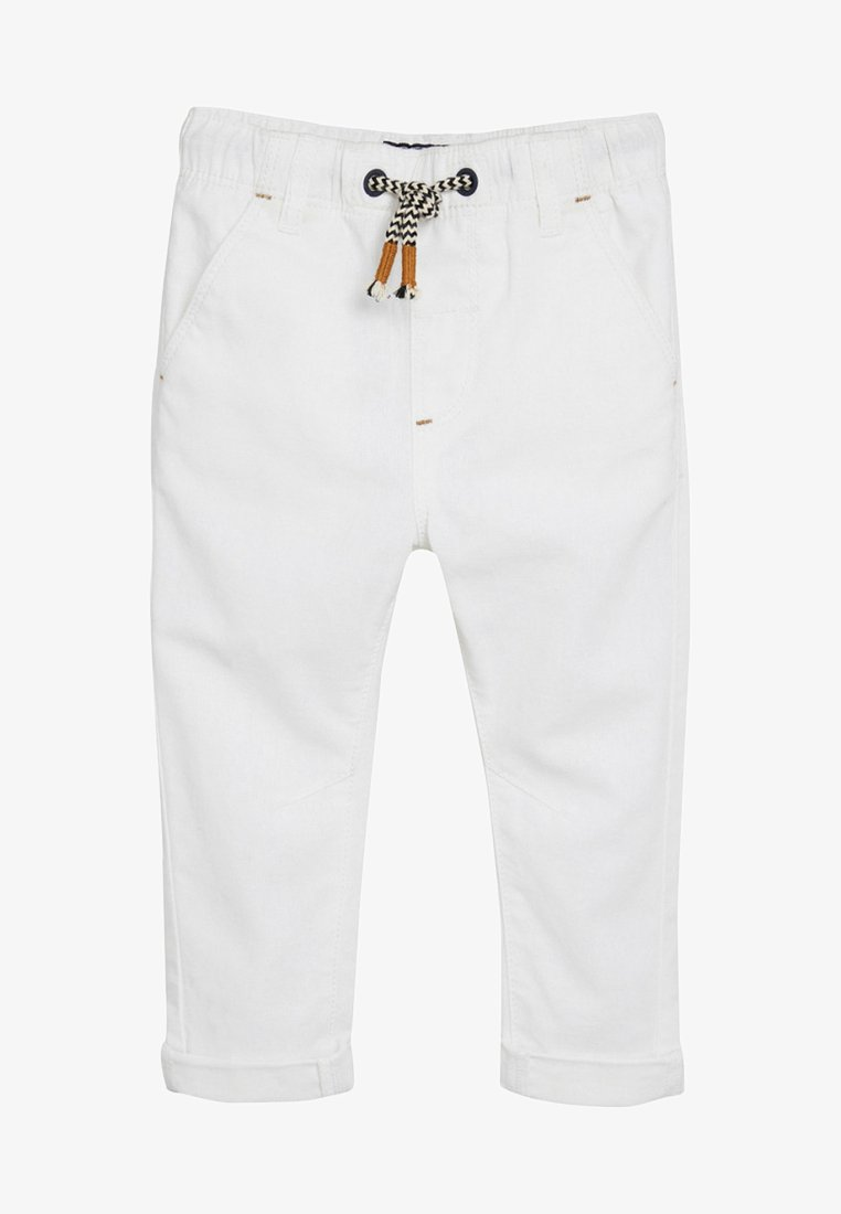Next - Straight leg jeans - white