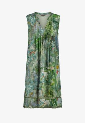 Day dress - smaragd