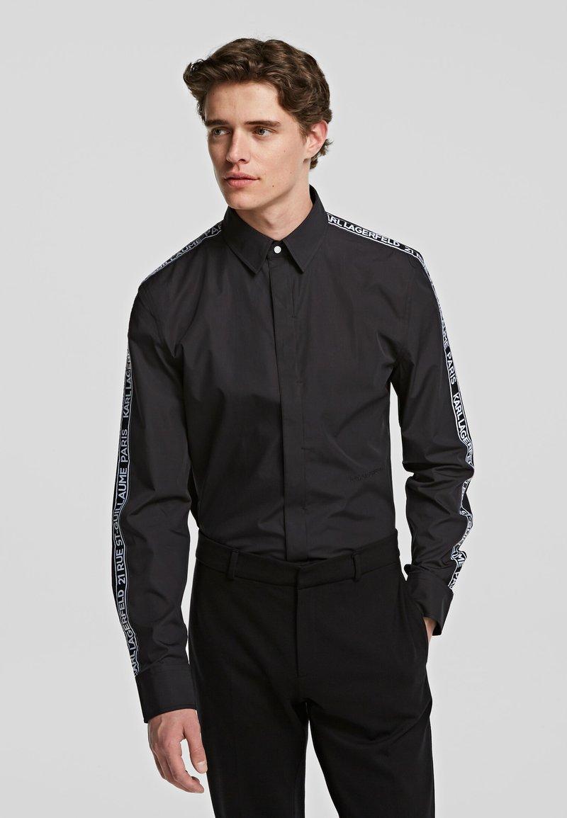 KARL LAGERFELD - Shirt - black