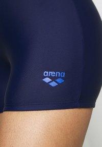 Arena - VENUS COMBI - Swimsuit - navy/fluo red/neon blue - 5